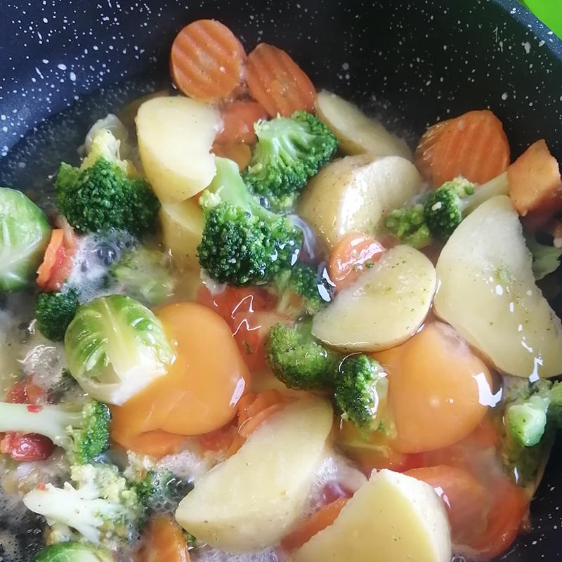 На обед — тушеные овощи
