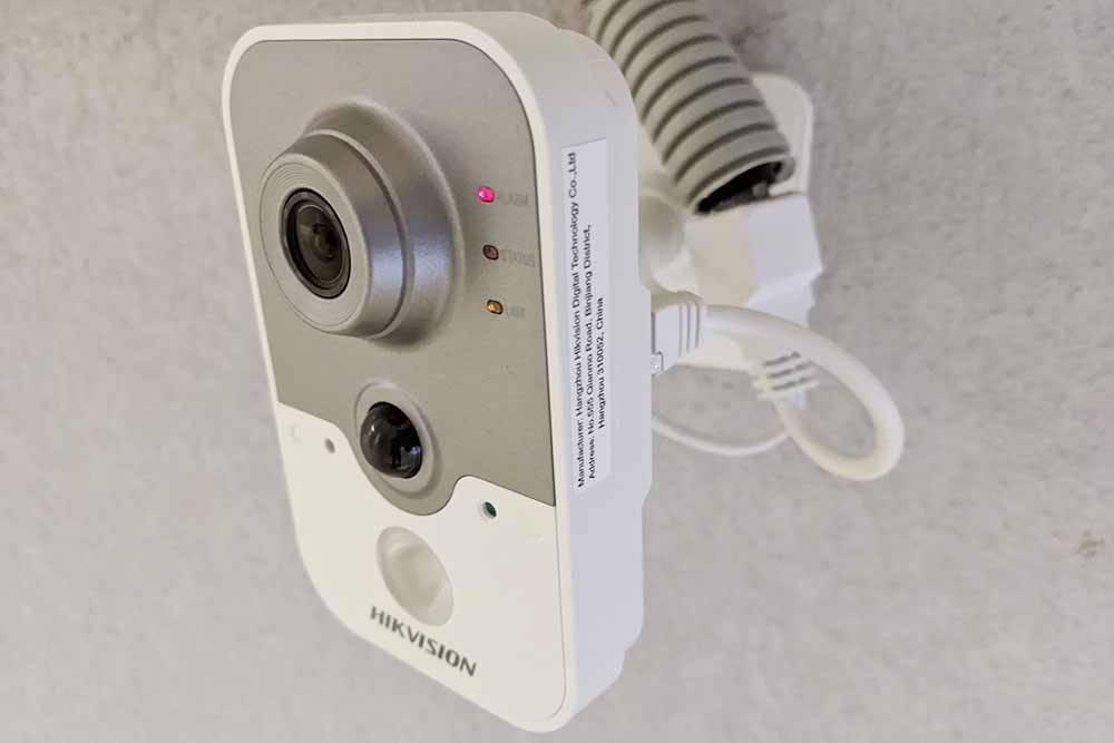 IP-камера с датчиком движения имикрофоном