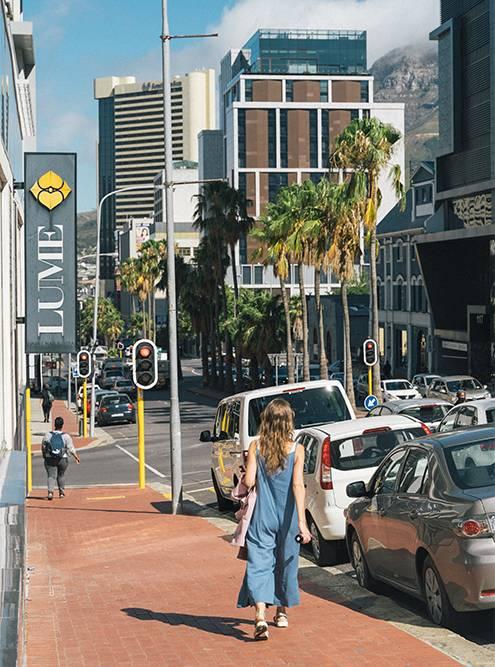 Кейптаун — это небоскребы и современные дома