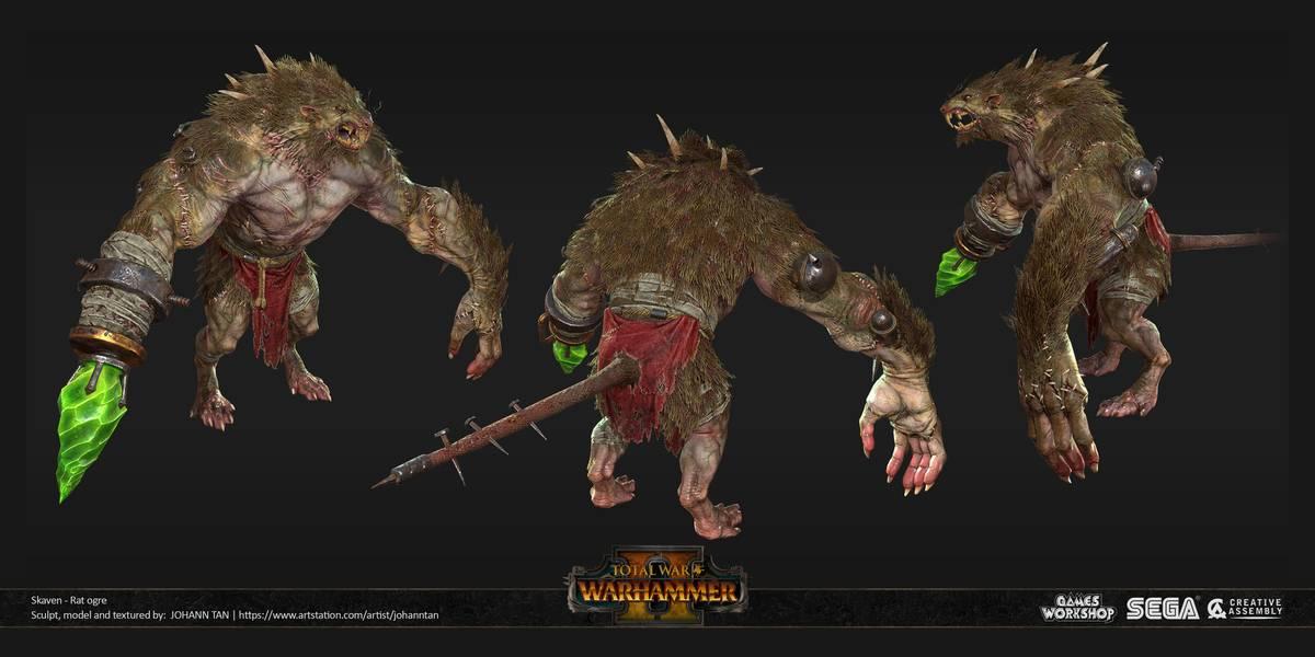 Так мой крысоогр выглядит в компьютерной игре. Источник: Pinterest