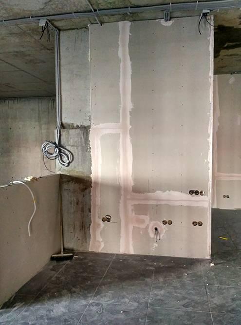 Так выглядело наше место подвторую кофейню во время ремонта