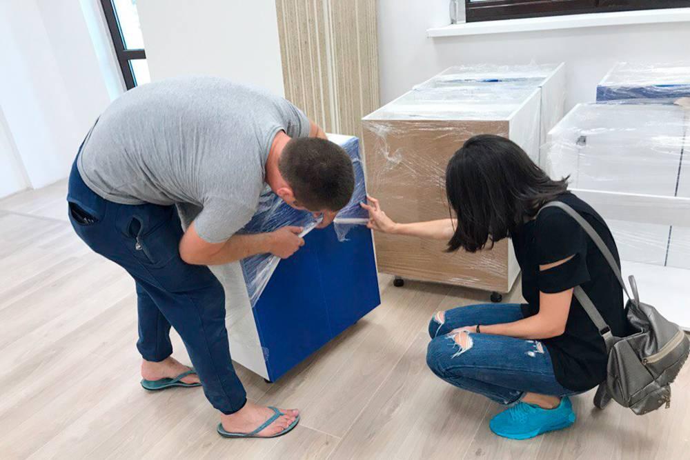 Мебель делали на заказ 3 месяца