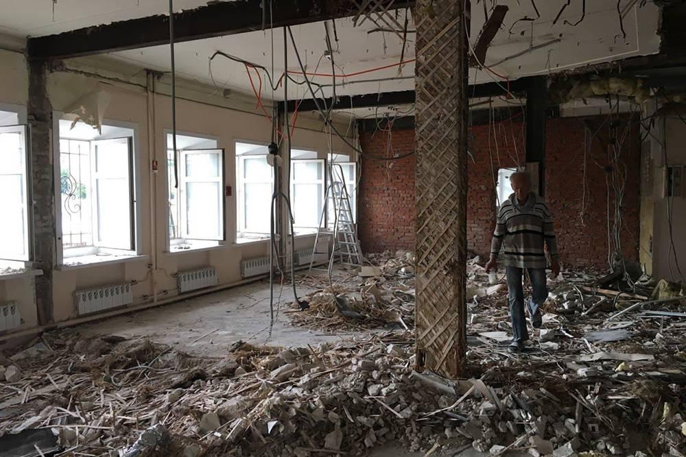 Ремонтировали помещение на Таганке около полугода