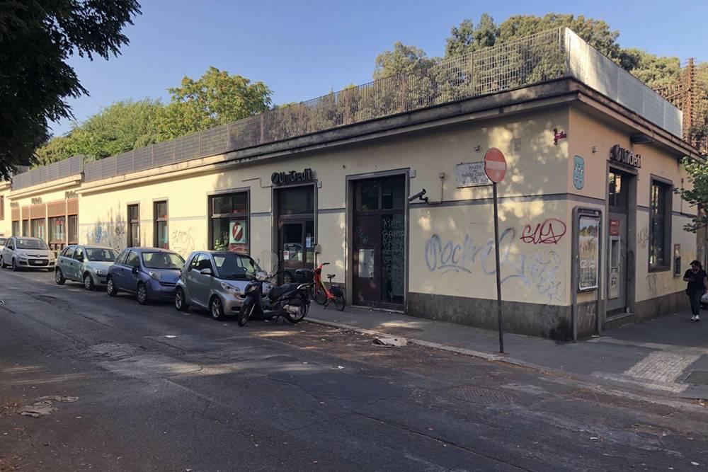 Отделения банков в Риме выглядят неприглядно
