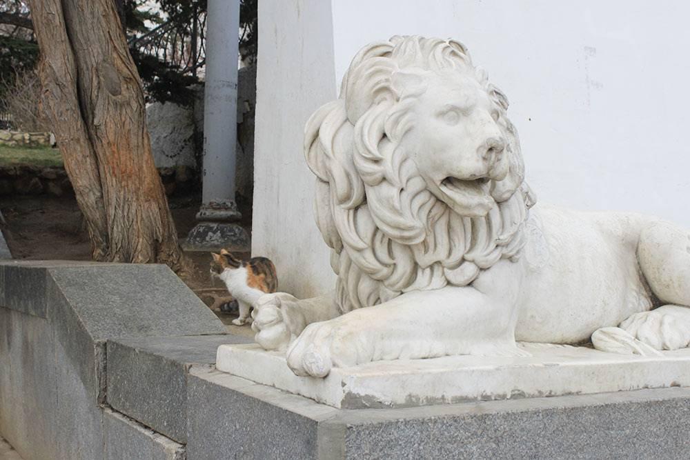 Мраморные львы роднят Севастополь с Петербургом