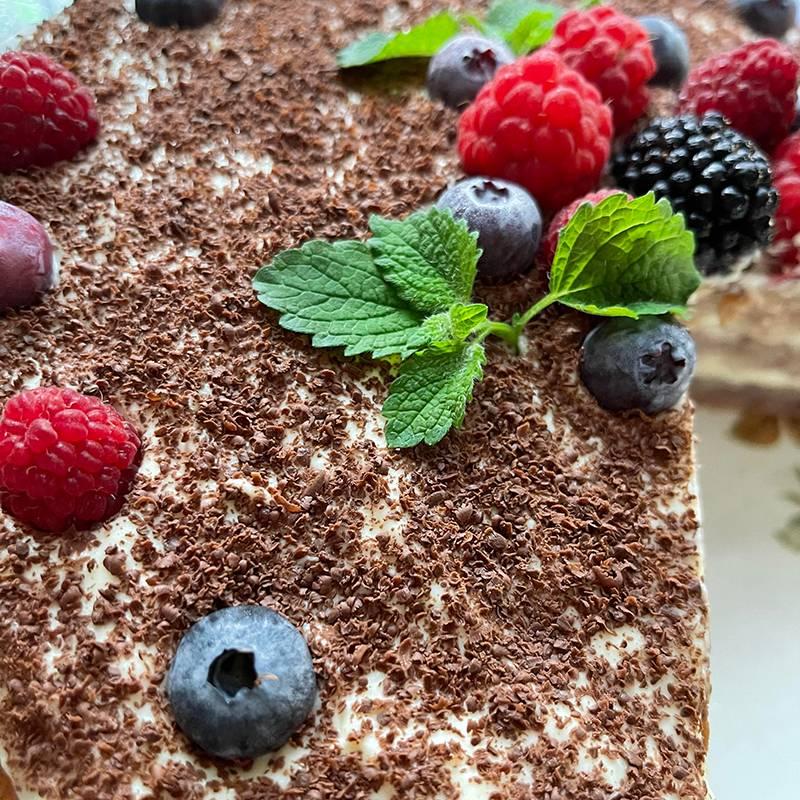 Вот такой у мамы получился торт