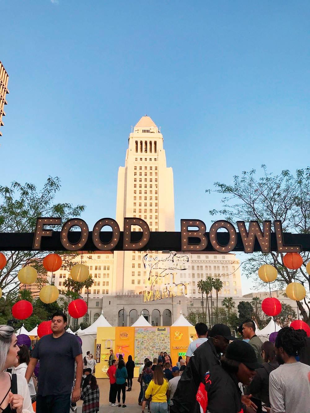 Фестиваль еды в Лос-Анджелесе