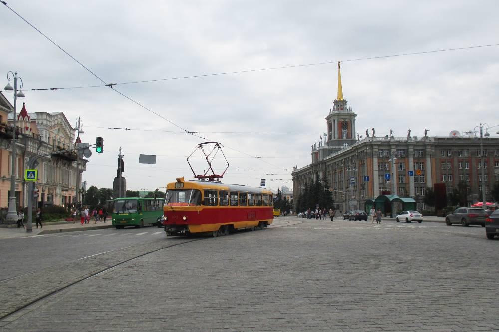 Трамваи в Екатеринбурге