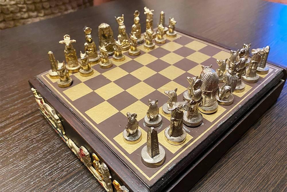 Шахматы из Египта