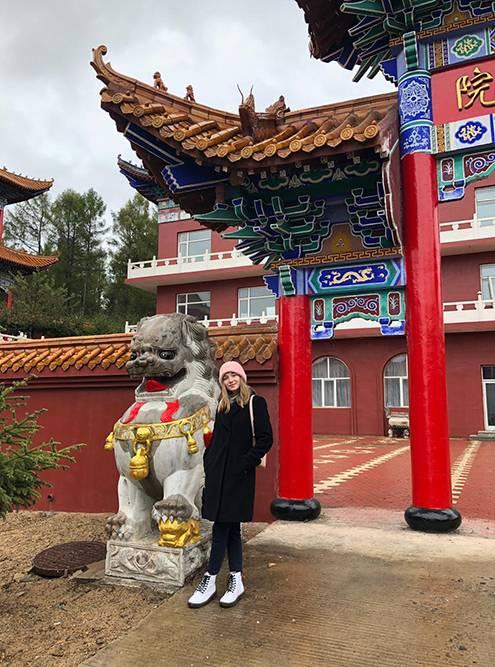 Буддистский храм — одна из главных достопримечательностей Муданьцзяна