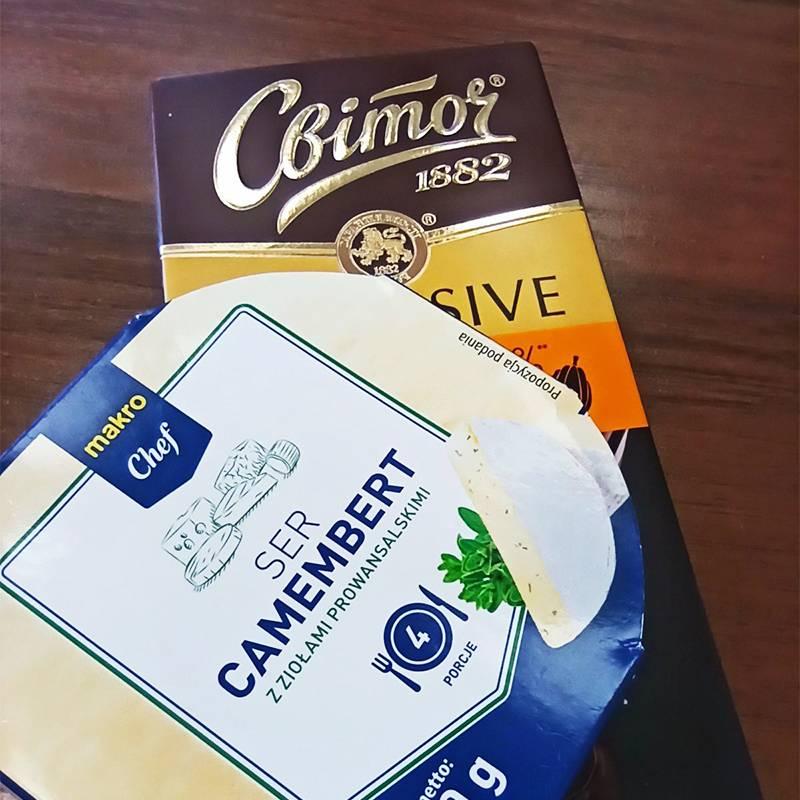 Вкусности, которые коллега привезла изУкраины