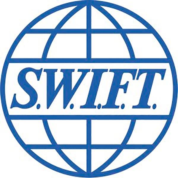 Логотип КТС подозрительно похож на логотип системы международных банковских переводов SWIFT