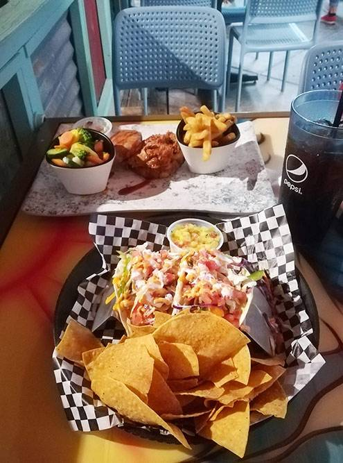 Ужин в Миртл-Бич — 42,22$