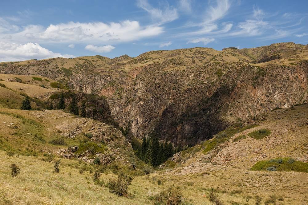 Масштабы на плато Асы впечатляют