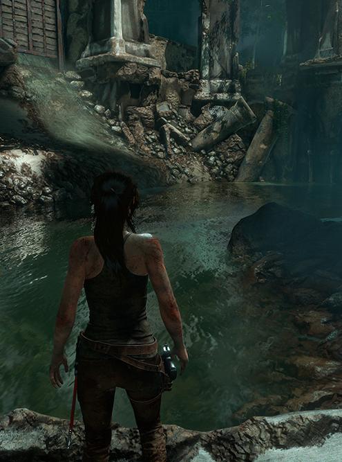 Максимальный параметр отражений. Игра — Rise of theTomb Raider. Источник: nvidia.com