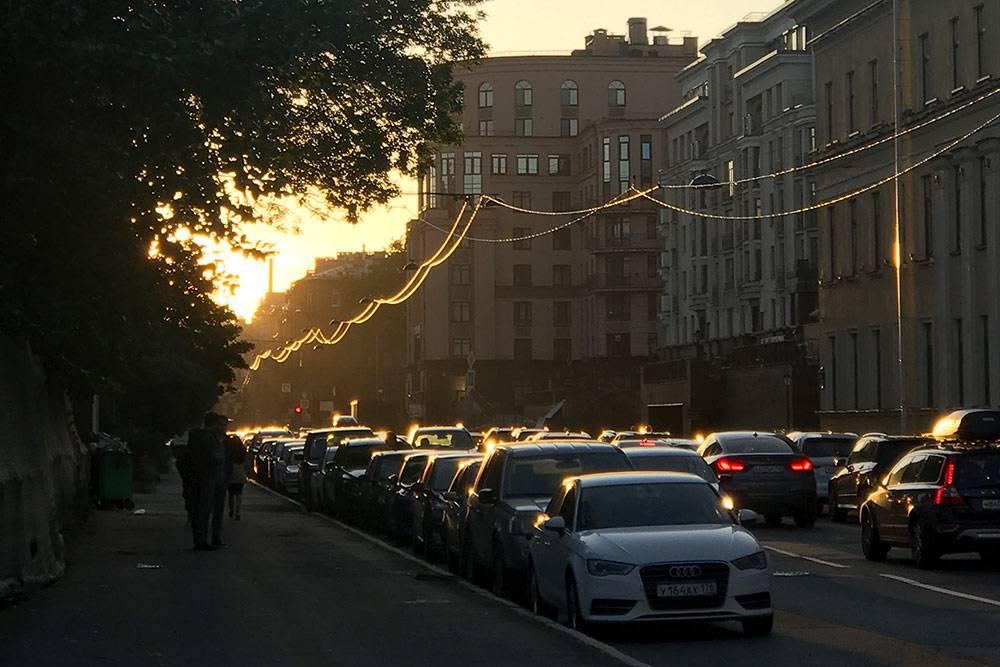Очередной солнечный день вПетербурге