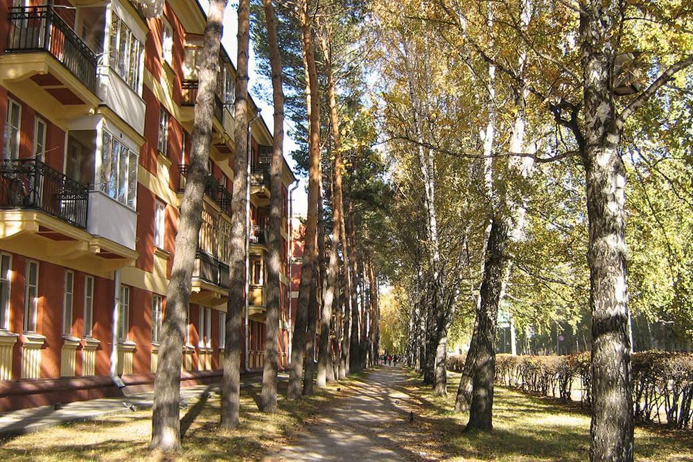 Морской проспект, Академгородок