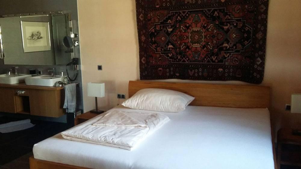 Спальня в апартаментах, которые Бурги и Рудольф предоставили мне на время волонтерства