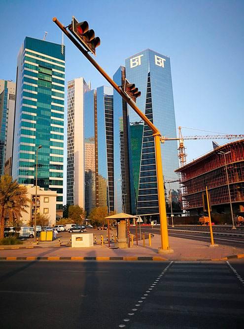 Строительство зданий в центре, кажется, не заканчивается никогда