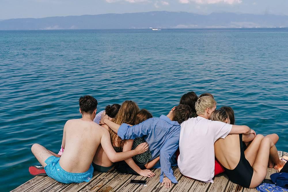 Охридское озеро покорило нас: очень красивое место