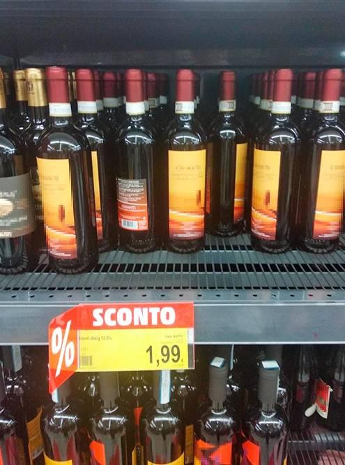 В магазинах много акционных предложений, но вино лучше брать то, которое покупают местные