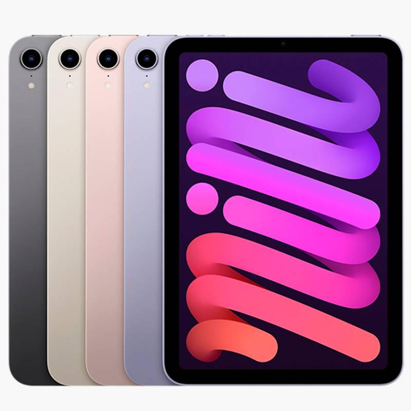 Расцветки iPad Mini — «Серый космос», «Сияющая звезда», «Розовый», «Фиолетовый». Источник: «Эпл»