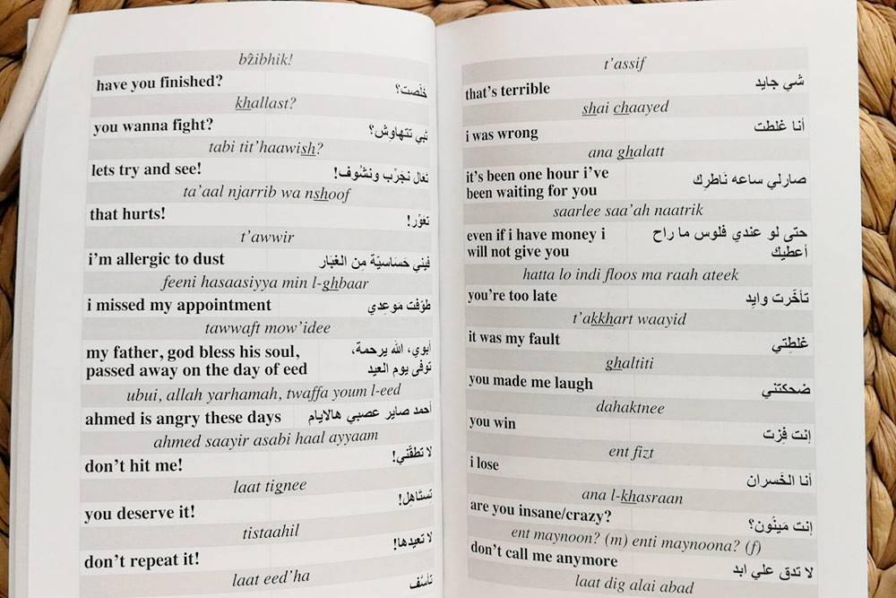 Подарок от друга — разговорник кувейтского диалекта с фразами, отражающими жизнь и культуру страны
