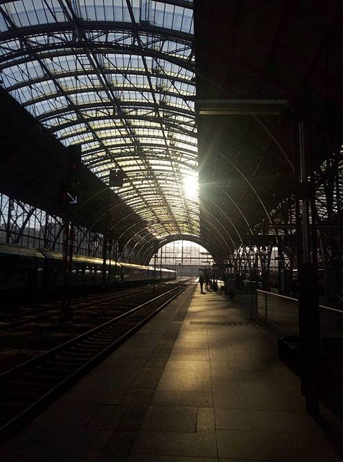 Обычно я выезжаю с пражского вокзала и возвращаюсь в темноте