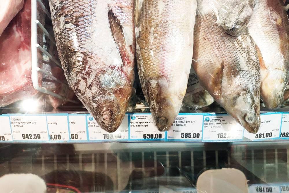 Цена на рыбу