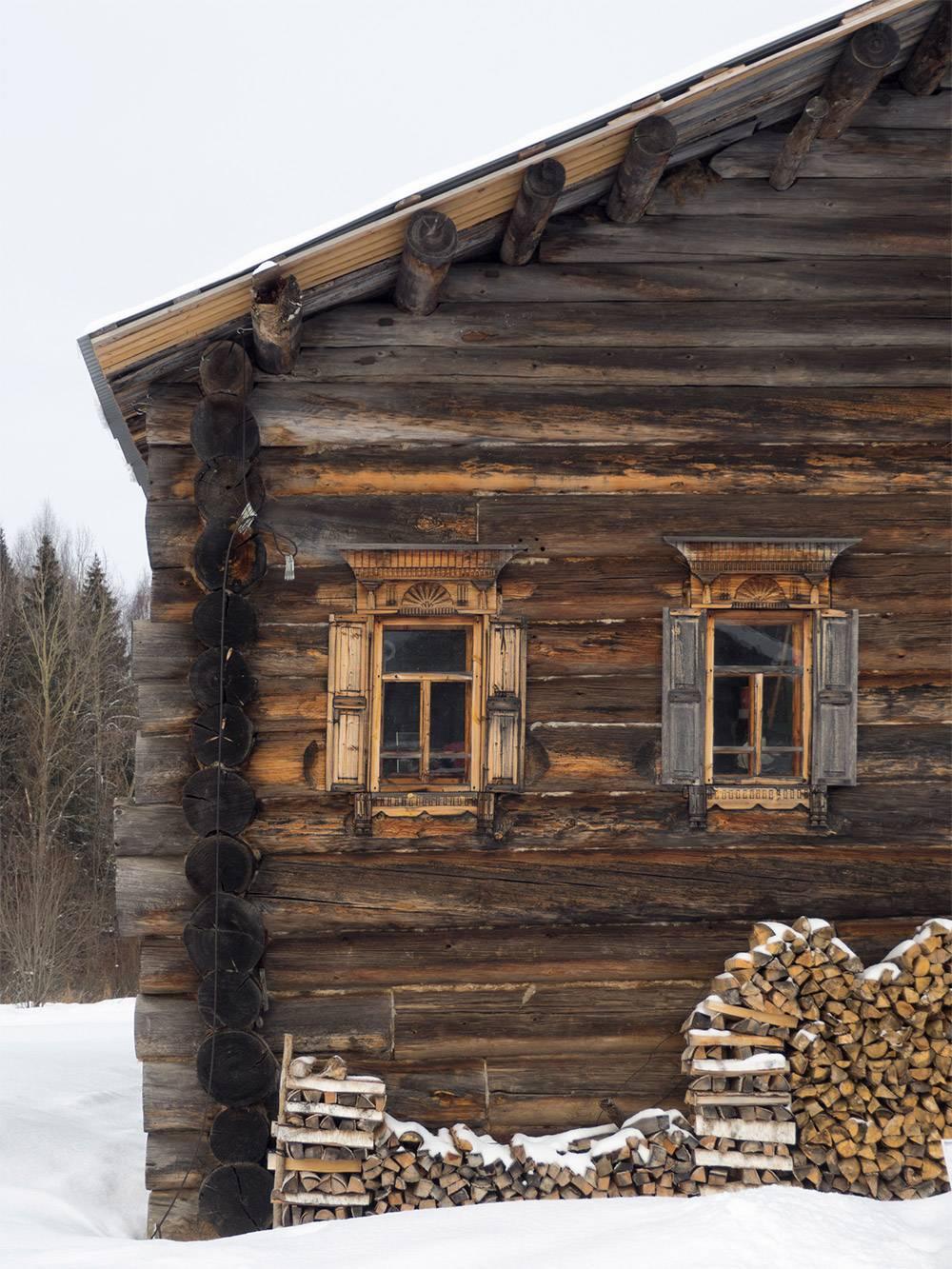 Деревянные дома вмузее выглядят почти как новые!