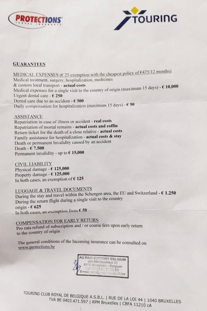 Медицинская страховка Беллы полностью покрывает услуги хирурга, а дантиста — до 250€