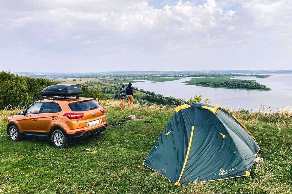 Так выглядит наша четырехместная палатка