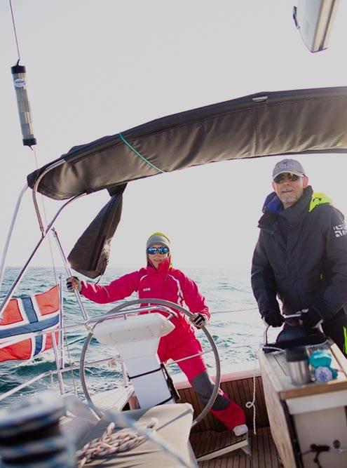 В Норвегии на Лофотенских островах, 2019. Фото из архива «Дружеской регаты»