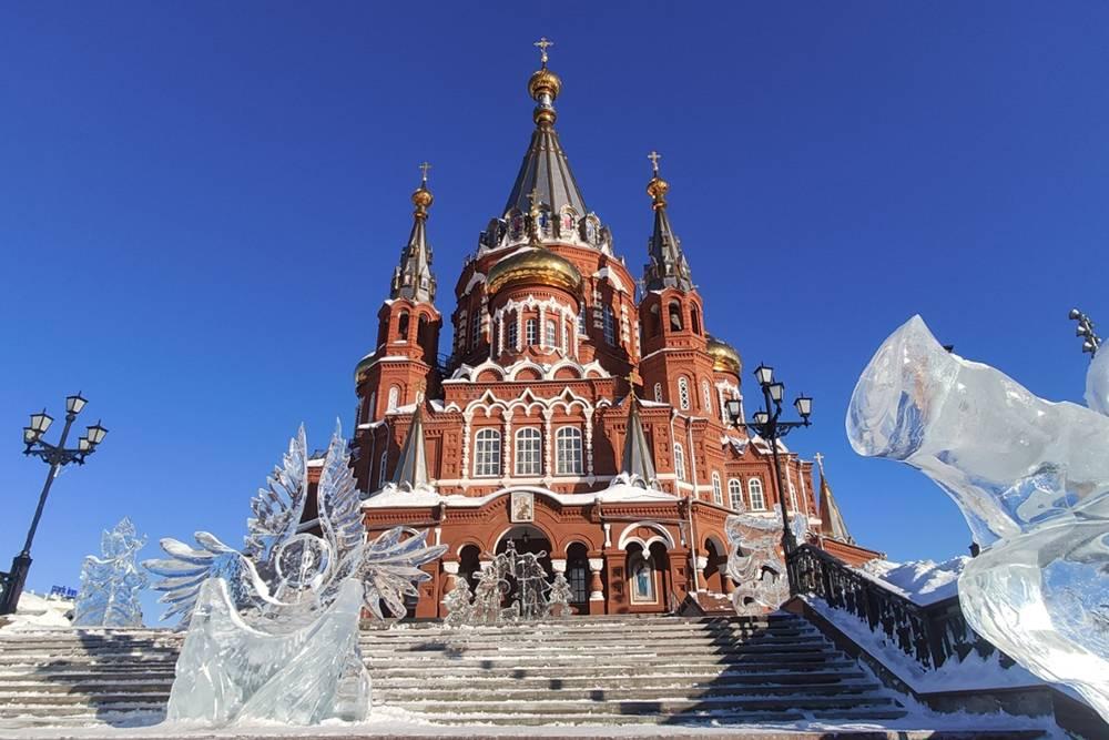 В 2017году собору присвоили статус кафедрального храма Ижевской и Удмуртской епархии