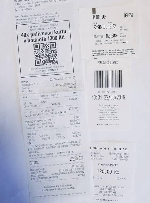 Мой муж собирает все чеки, поэтому я точно могу сказать, что в августе 2019 года 95 бензин в Праге стоил примерно 90,5<span class=ruble>Р</span>, а за парковку мы отдали 330<span class=ruble>Р</span>