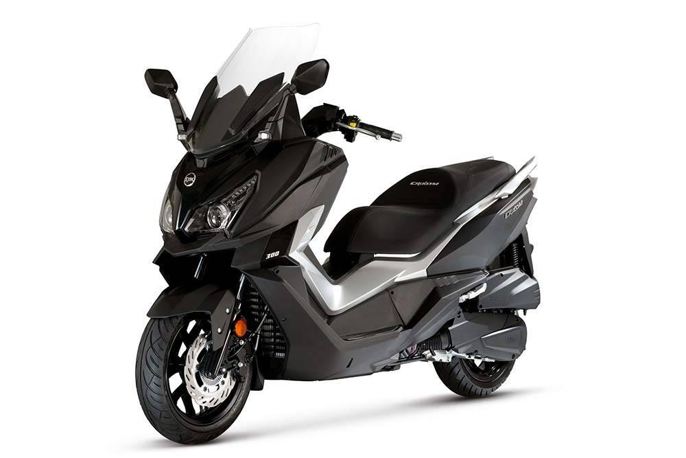 Мой скутер Sym