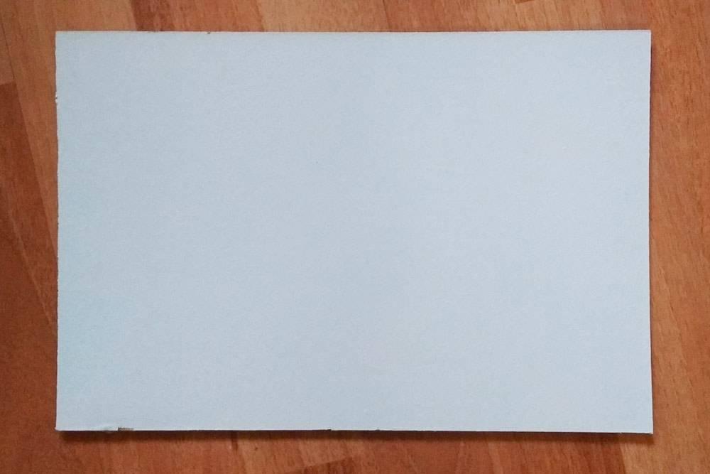 Грунтованный картон 20 × 30 см