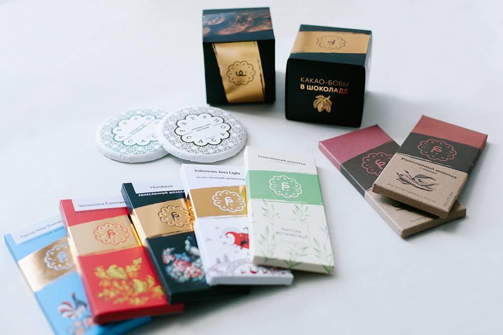 Линейку «ориджин» делают из моносортов шоколада из разных стран. Несмотря на одинаковый состав, у каждого вида такого шоколада свой вкус