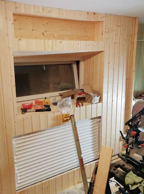 С новыми стенами кухня стала светлее и уютнее