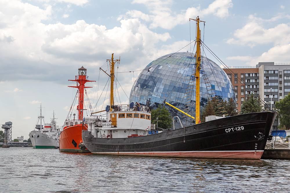 СРТ-129 — объект культурного наследия, в 2007году его передали Музею Мирового океана. Источник:Pavel Kosolapov / Shutterstock