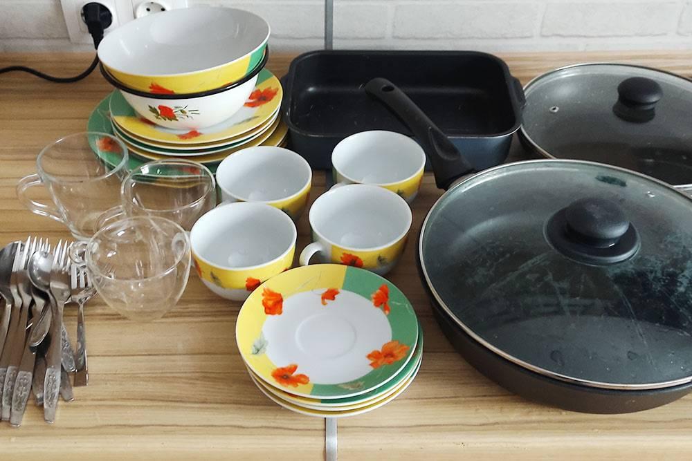 Зато я очень давно немыл такое количество посуды самостоятельно