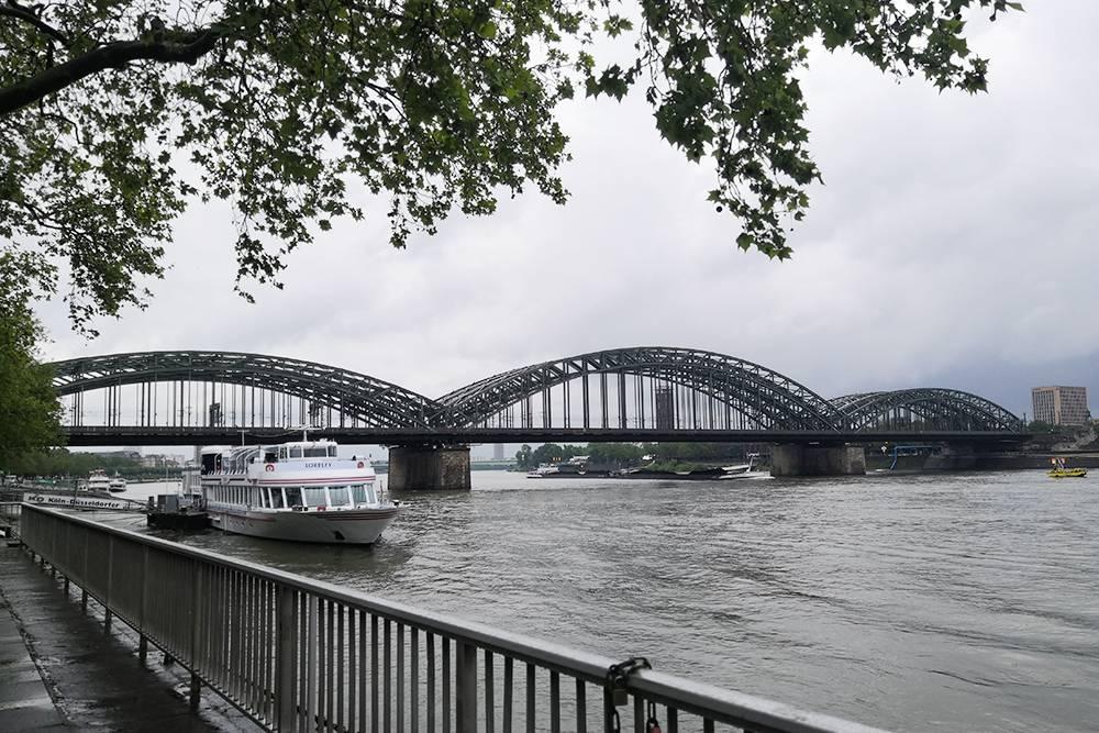 Мост Гогенцоллернов через Рейн
