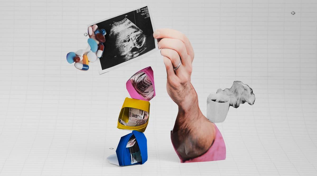 «Деньги складываются в три коробки»: бюджет семьи, которая ждет ребенка и живет на 35 000 ₽