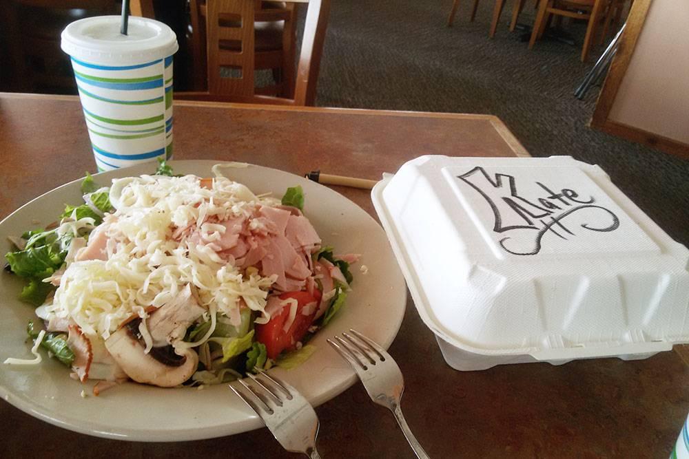 Мой обед в ресторане