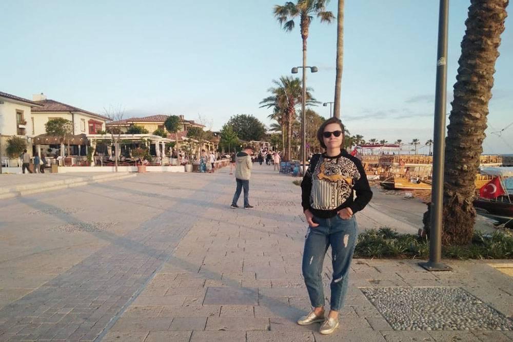Я на набережной в курортном городе Сиде