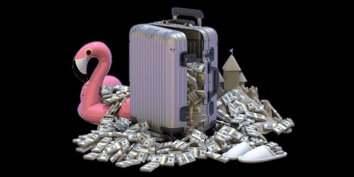 Сможете ли вы потратить миллион долларов в путешествии?