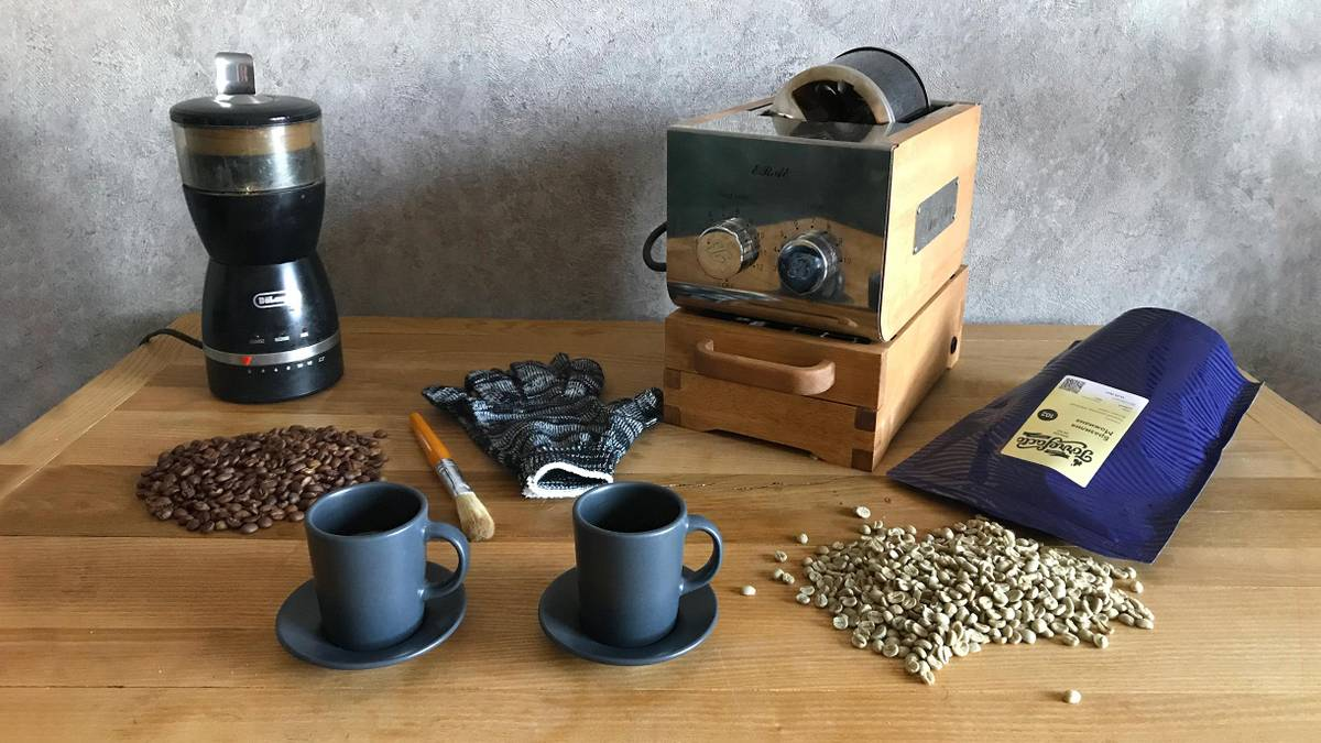 Сколько стоит обжаривать кофе дома