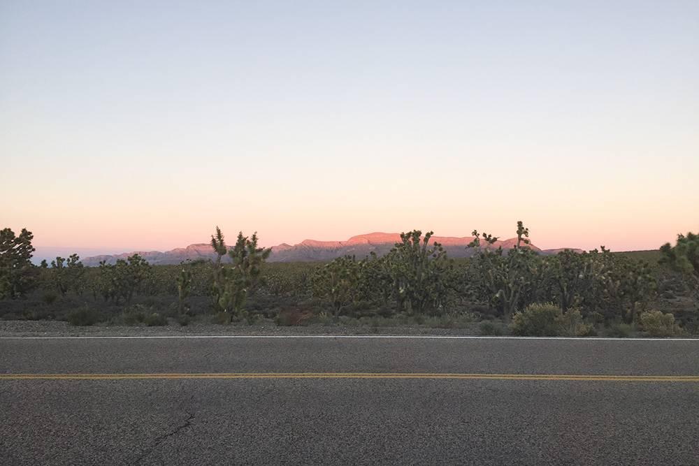 По пути в Гранд-Каньон мы встретили рассвет
