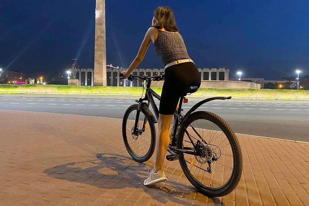 Люблю вечерние велопрогулки, когда уже нет жары