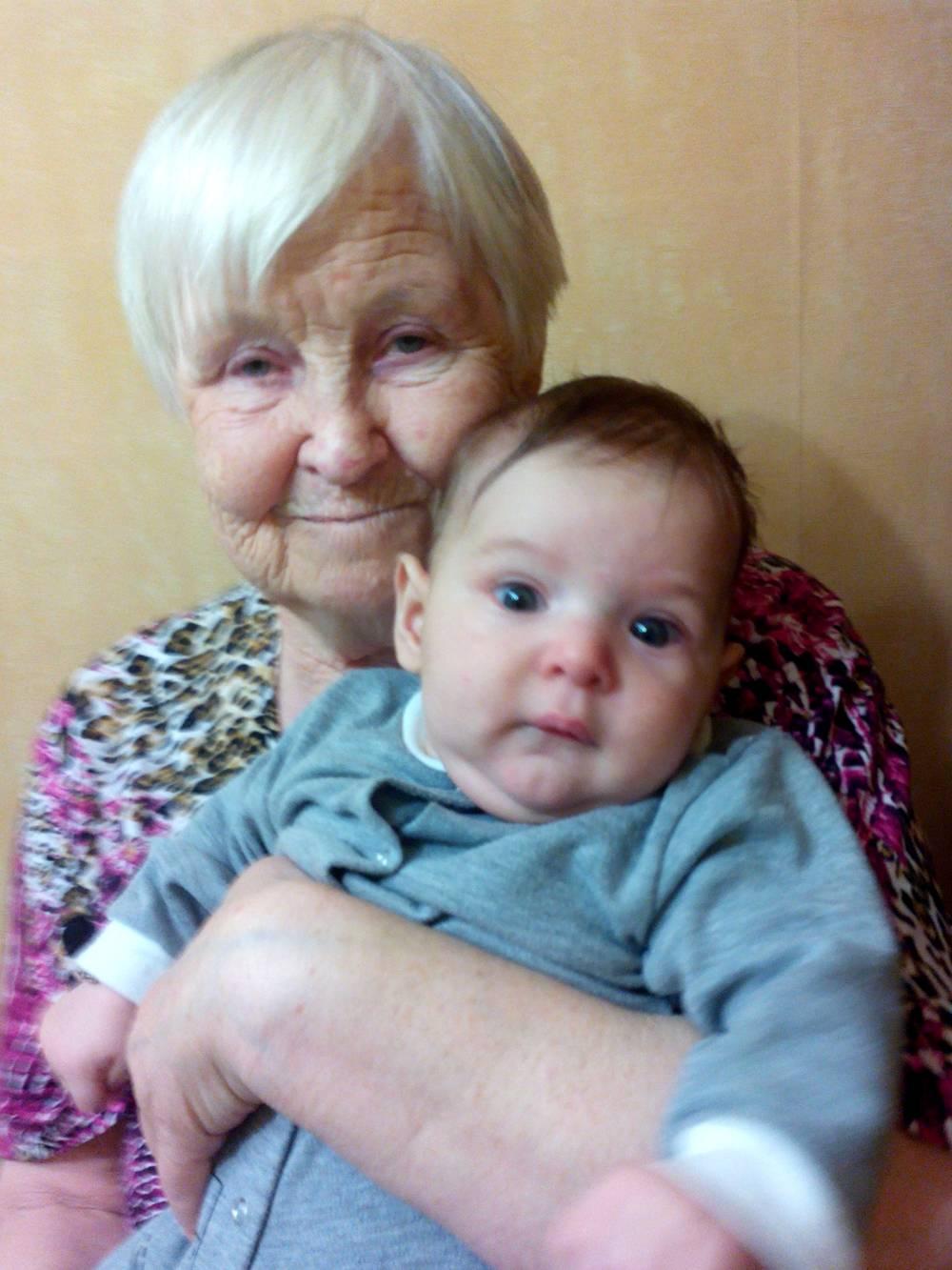 Бабушка стала прабабушкой